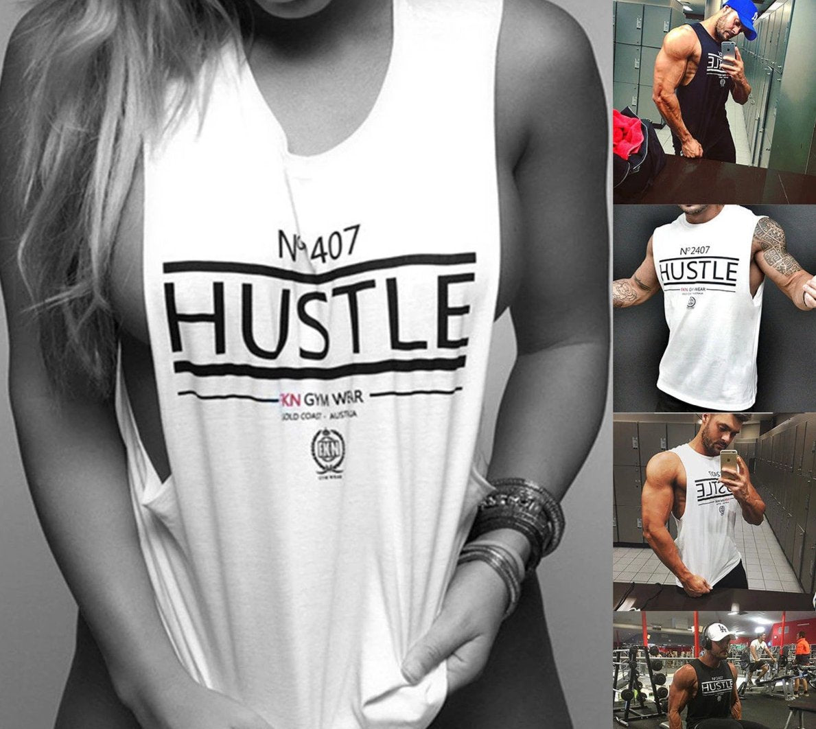 Unisex Gym Casual Wear Tank Top - 4LAUNT.COM