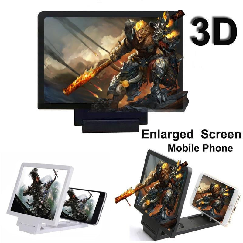 Portable Folding 3D Movie Screen Enlargement Projector - 4LAUNT.COM