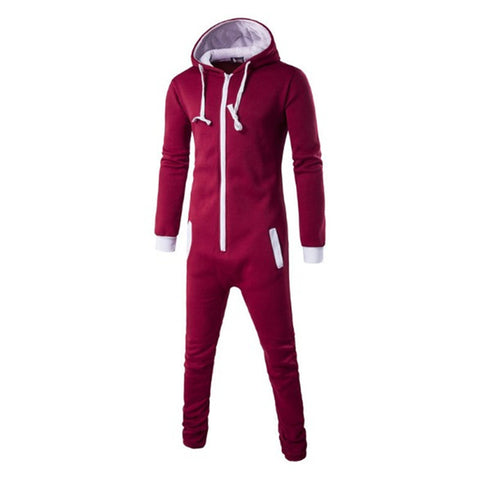 Men Hooded Sweat Suit Set - 4LAUNT.COM