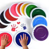 Baby Care Non-Toxic Baby Hand & foot Print Play Paint - 4LAUNT.COM
