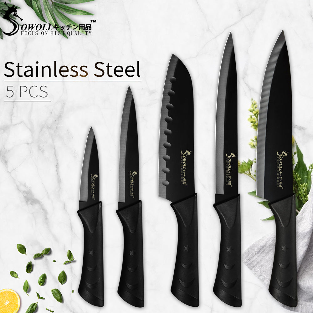 Chef's Japanese High Carbon Stainless Steel Knives Set - 4LAUNT.COM