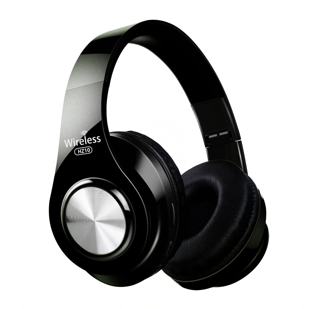 Wireless Bluetooth Headphones Over Ear Fold-able Headset