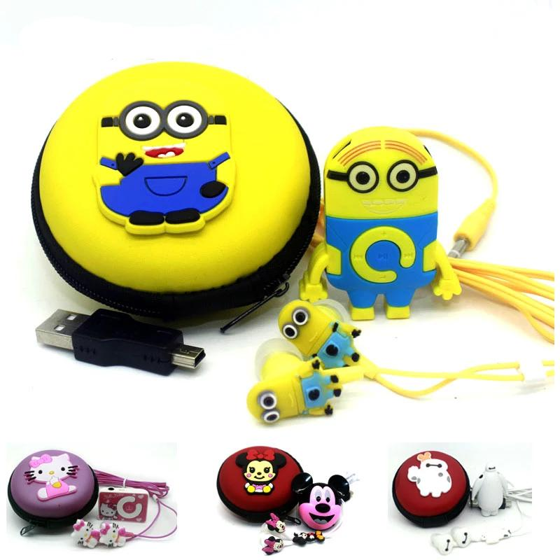 Children's MP3 Player with Earphones and Bag - 4LAUNT.COM