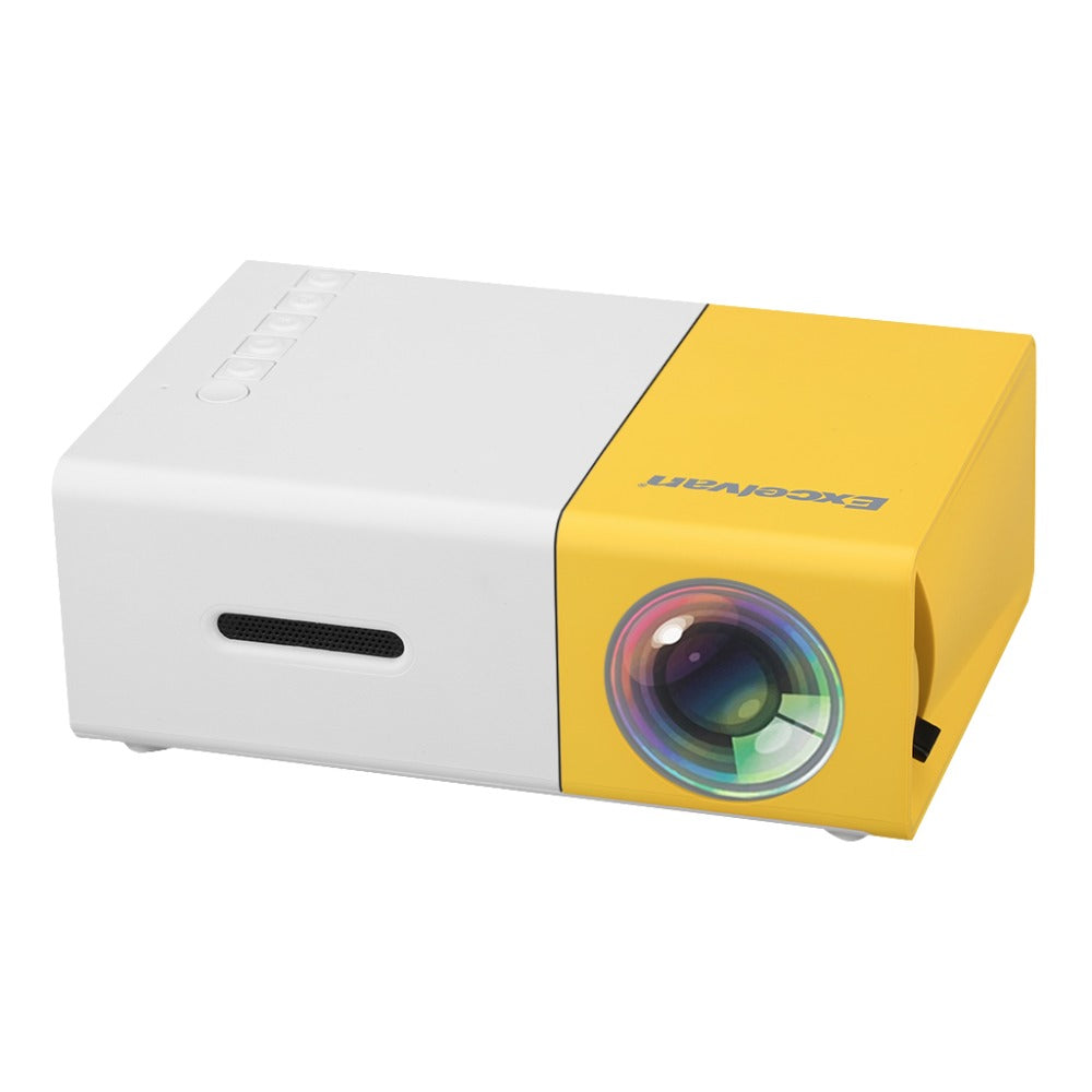 Mini Portable LCD Projector 320 x 240 Pixels - 4LAUNT.COM