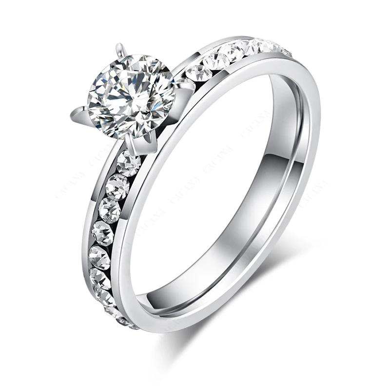Elegant Princess Setting Ring - 4LAUNT.COM