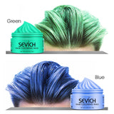 Sevich Fashion Silver Color Jar Styling Hair Colour Wax - 4LAUNT.COM
