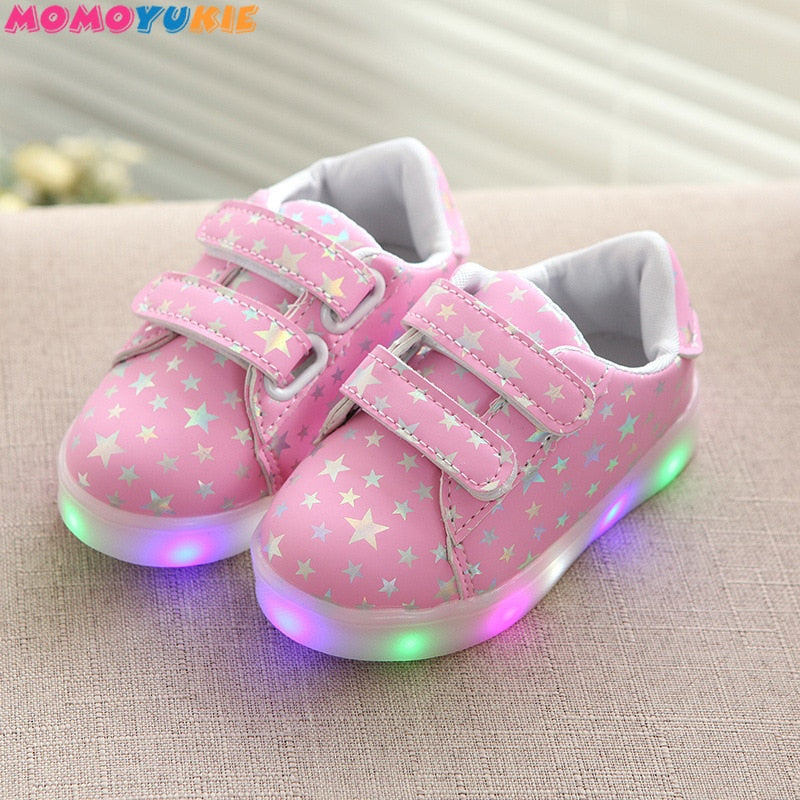 Led luminous Girls Shoes - 4LAUNT.COM