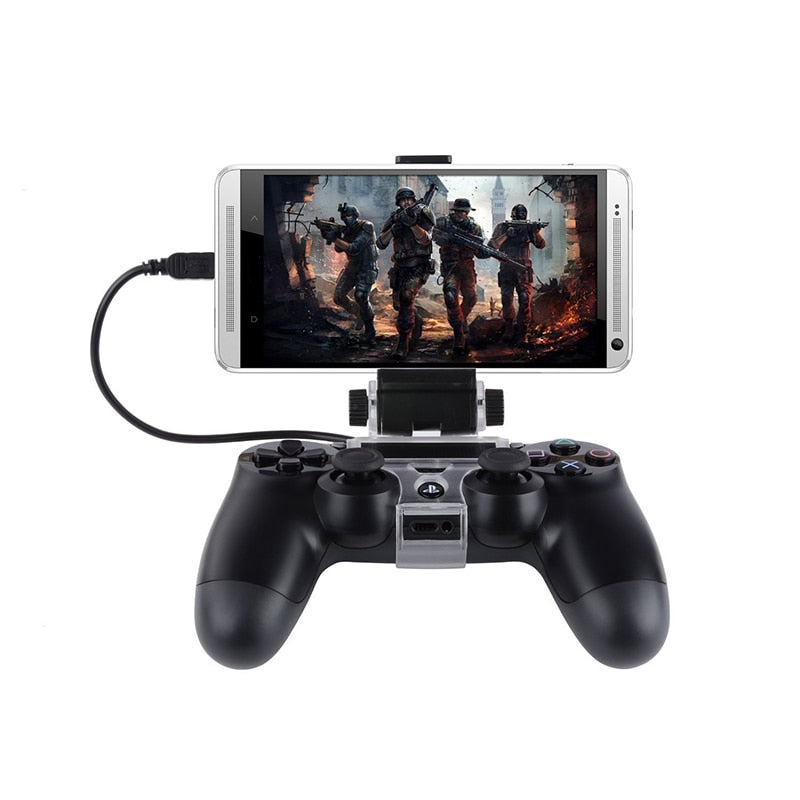 Smart Phone Clamp for PlayStation 4/Slim/Pro Dual-shock 4 Controller - 4LAUNT.COM