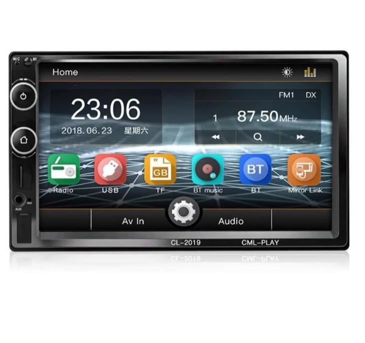 "7"" HD Multimedia Player with Bluetooth and FM Radio - 4LAUNT.COM"