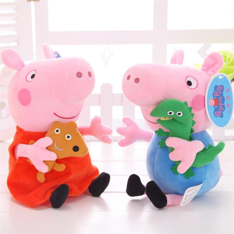19 CM Original Peppa Pig Family Collection - 4LAUNT.COM