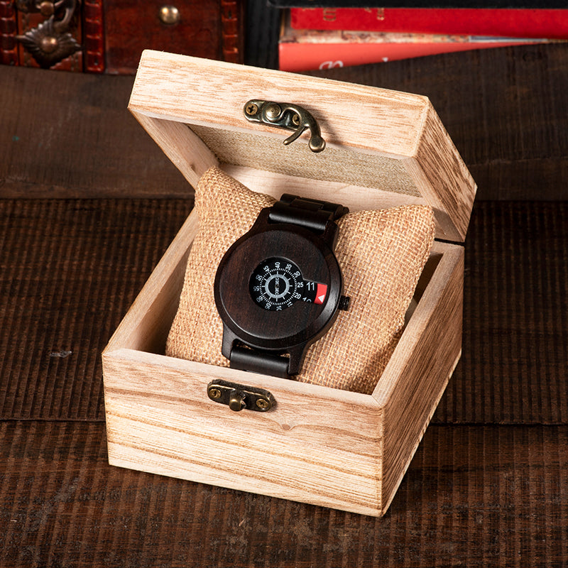 Quartz Wrist Luxury Wooden Watch - 4LAUNT.COM