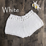 Sexy Women's Crochet Cotton Shorts - 4LAUNT.COM
