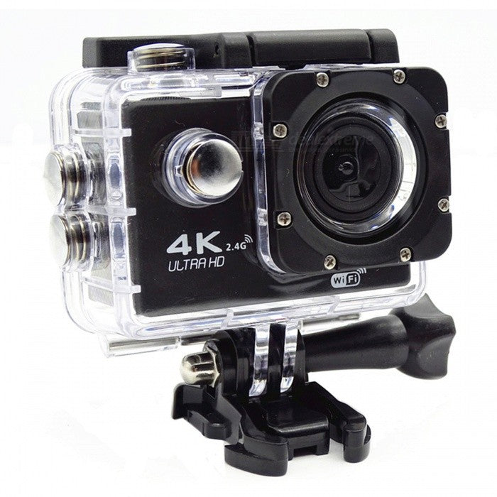 "Waterproof WiFi 12MP HD 2"" TFT LCD Sports Action Camera"