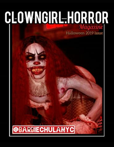 Clown Girl Horror Magazine Halloween Issue