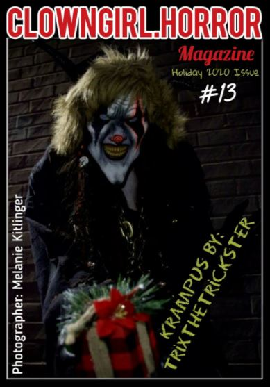 Clown Girl Horror Magazine Holiday 2020 Issue