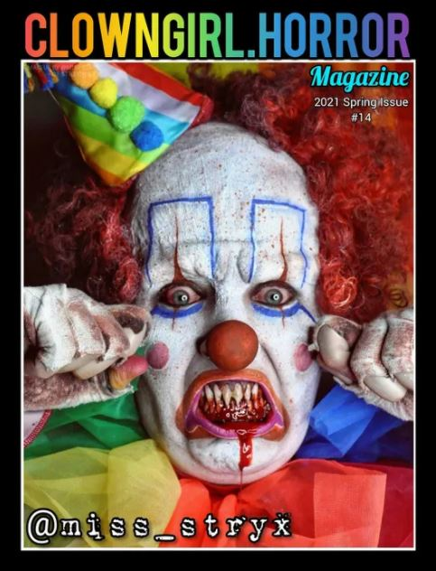 Clown Girl Horror Magazine Spring 2021 Issue