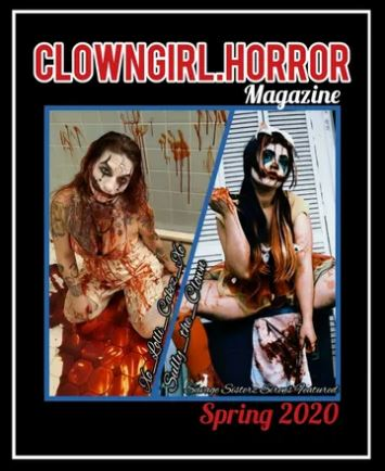 Clown Girl Horror Magazine Spring Issue