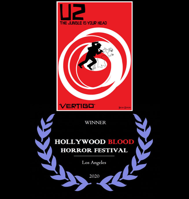 Vertigo won at the Hollywood Blood Horror Festival