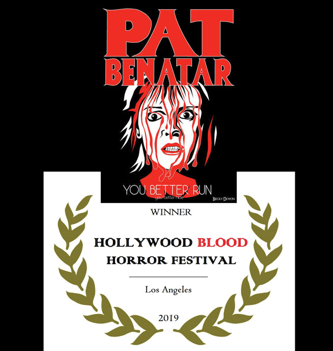 I'm a Hollywood Blood Horror Festival Winner!