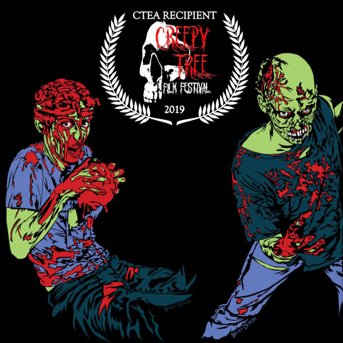 I'm a Creepy Tree Film Festival Exemplar Award Winner!