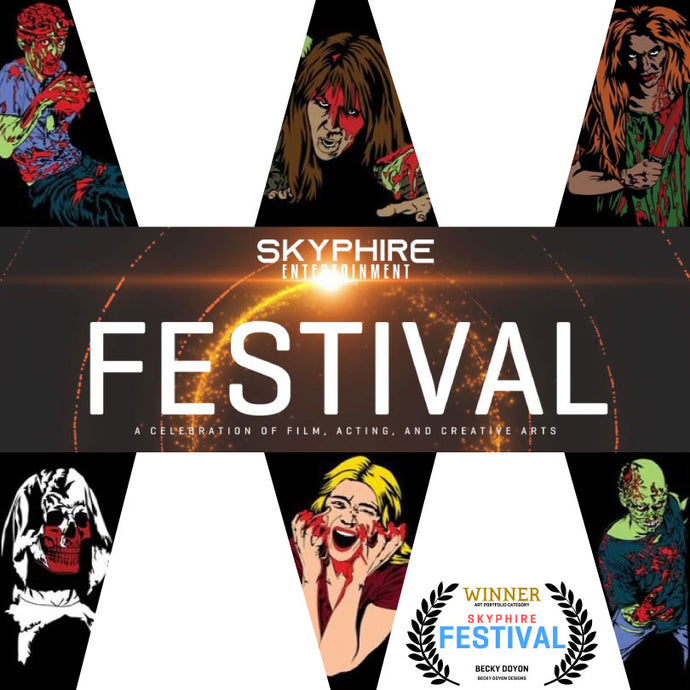 I Won at the Skyphire Entertainment Festival