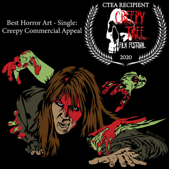 Survival won at the Creepy Tree Film Festival (Winter 2020)!