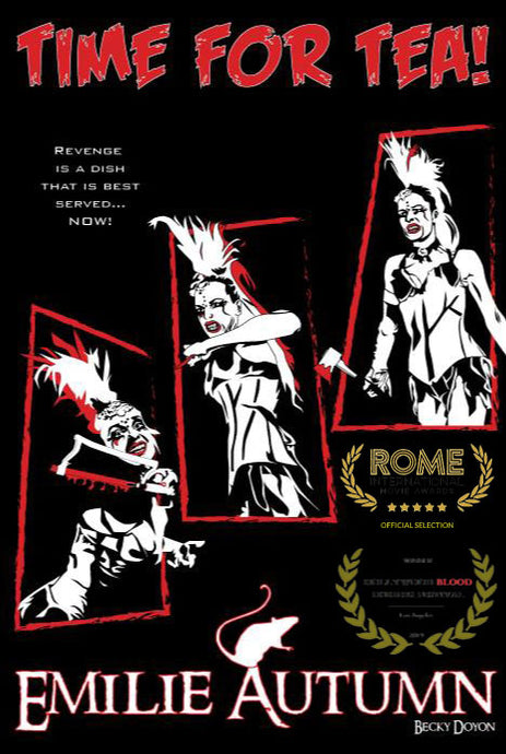 I've officially been selected into the Rome International Movie Awards! (October 2020)