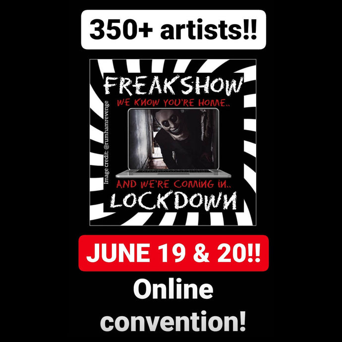 Freakshow Lockdown Hosted by Clown Girl Horror