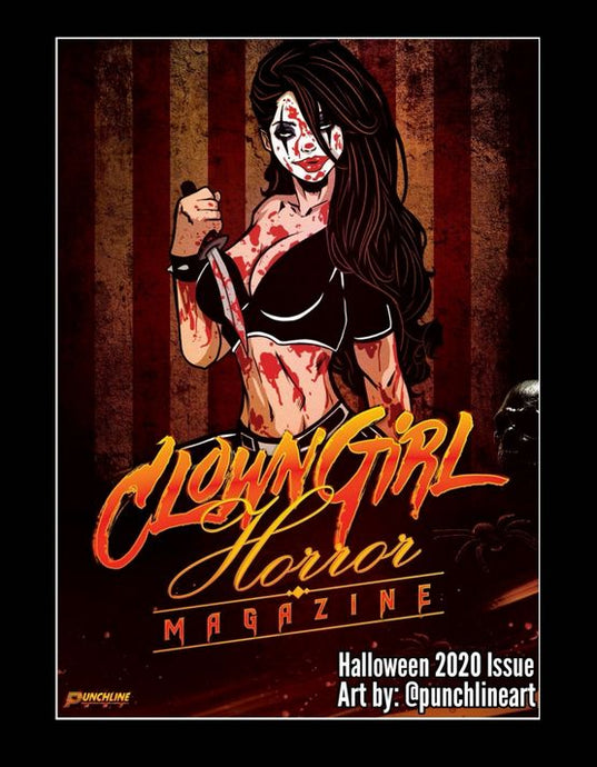 Clown Girl Horror Magazine Halloween 2020 Issue