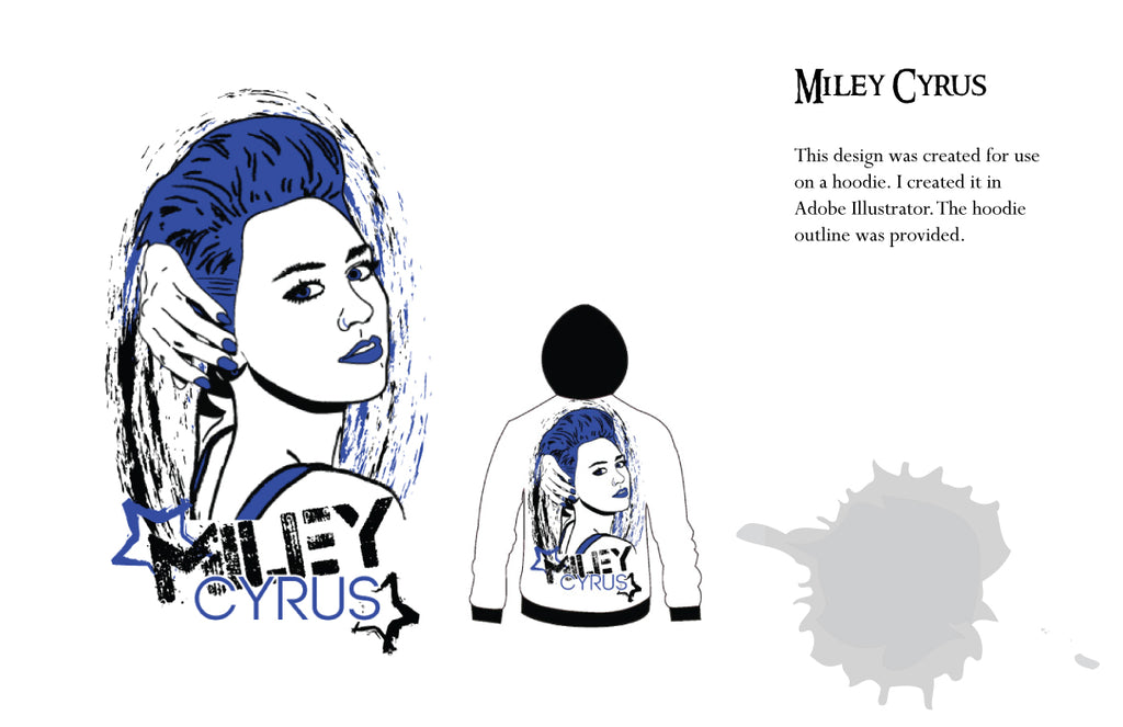 Becky Doyon Miley Cyrus Hoodie