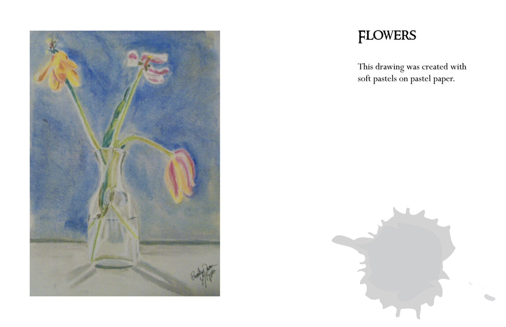 Becky Doyon Flower drawing