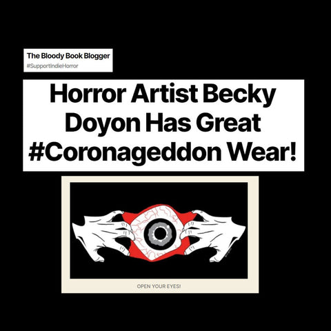 Becky Doyon The Bloody Book Blogger Feature