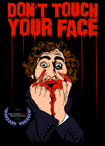 Becky Doyon Don't Touch Your Face Hollywood Blood Horror Festival winner