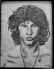 Jim Morrison by Becky Doyon