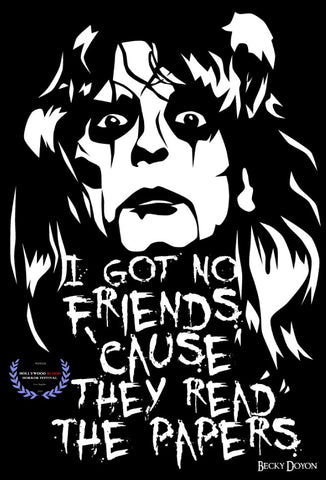 Becky Doyon Alice Cooper No More Mr Nice Guy Hollywood Blood Horror Fest Selection