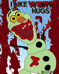 Zombie Olaf by Becky Doyon