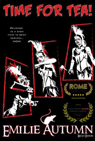 Becky Doyon Emilie Autumn Time for Tea Rome International Movie Awards Selection