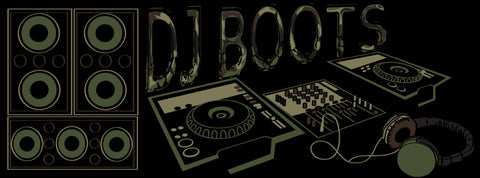 DJ Boots by Becky Doyon
