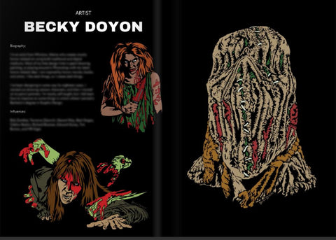 Becky Doyon Dark Zone Magazine