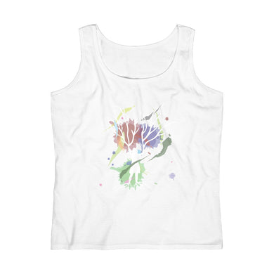 Female Empowerment Women's White Tank Top (S-2XL)