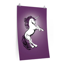 Load image into Gallery viewer, Unicorn Poster (Various sizes)