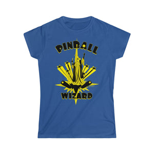 Pinball Wizard Women's Tee (S-2XL Various Colors)