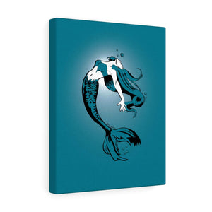 Mermaid Canvas Print (Various sizes)