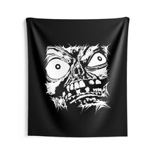 Load image into Gallery viewer, Stretched Monster Face Wall Tapestry (Various Sizes)