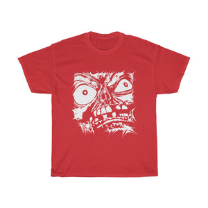 Stretched Monster Face Cotton Tee (Various Colors)(S-5XL)
