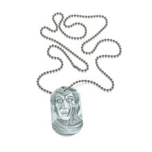 Load image into Gallery viewer, Medusa Dog Tag Necklace
