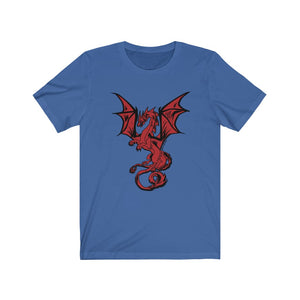 Red Dragon Cotton Tee (XS-4XL Various Colors)