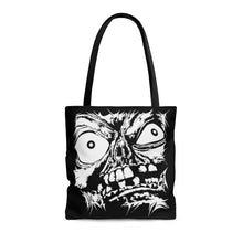 Load image into Gallery viewer, Stretched Monster Face Tote Bag (Various Sizes)