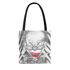 Clown Doll Tote Bag (Various Sizes)