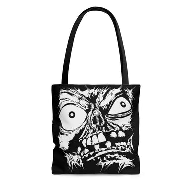 Stretched Monster Face Tote Bag (Various Sizes)